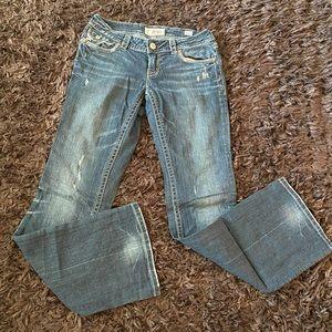 Mek studded designer jeans